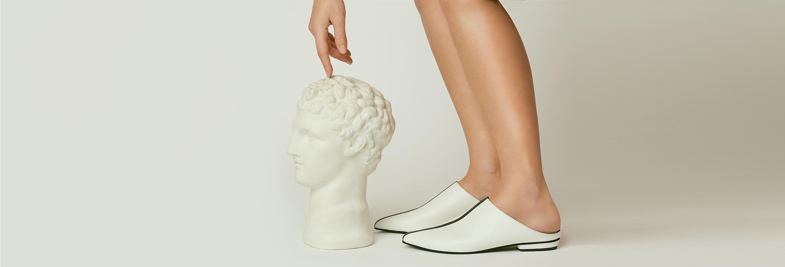 pantofi fara toc dama la comanda